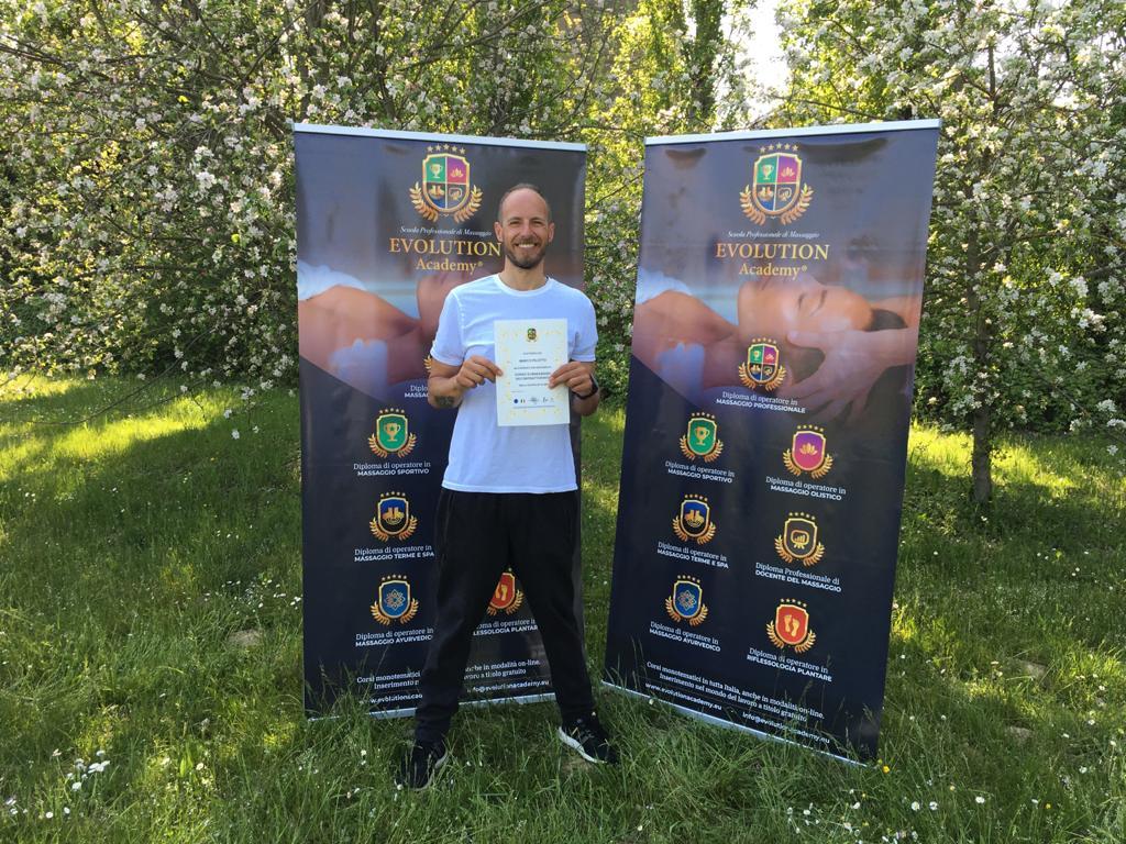 Certificazioni e materiale rilasciato al corso di riflessologia plantare elemento terra a Firenze